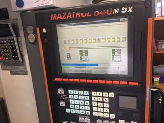 Fraiseuse Mazak Variaxis 500 5X - Production line 2 machines / 14 pallets, A.  2005-4