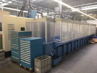 Fraiseuse Mazak Variaxis 500 5X - Production line 2 machines / 14 pallets, A.  2005-5