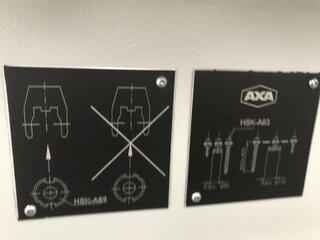 Fraiseuse AXA VSC 3 XTS, A.  2007-10