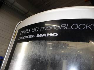 Fraiseuse DMG DMU 60 monoBLOCK, A.  2010-1