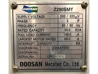 Tour Doosan Z 290 SMY-5