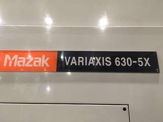 Fraiseuse Mazak Variaxis 630 5X, A.  2003-8