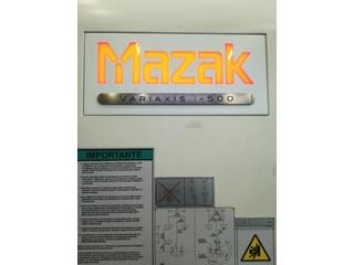 Fraiseuse Mazak Variaxis i - 500, A.  2014-1