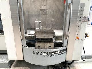 Fraiseuse DMG DMC 80 H doubock-8