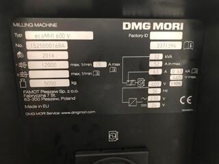 Fraiseuse DMG Mori ecoMill 600V, A.  2016-3