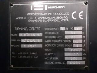 Tour Hwacheon Hi Tech 700 MC-8
