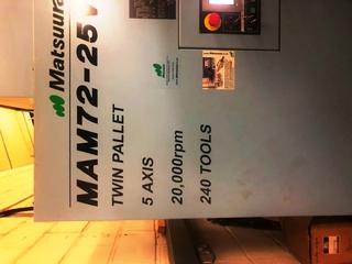 Fraiseuse Matsuura MAM 72 25V-9