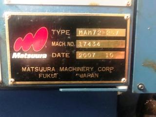 Fraiseuse Matsuura MAM 72 25V-4
