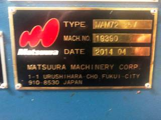 Fraiseuse Matsuura MAM 72 35V-9