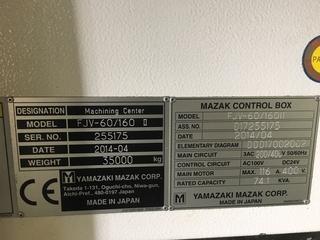 Fraiseuse Mazak FJV 60/160-9