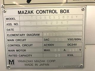 Tour Mazak Integrex 100 SY-II-7