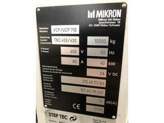 Fraiseuse Mikron UCP 710, A.  2000-11