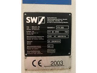 Fraiseuse SW BA 600 - 4-1