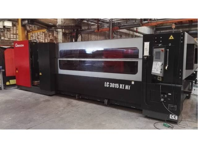 plus d'images Amada LC 3015 X1 NT 4000 W Systèmes de découpe laser