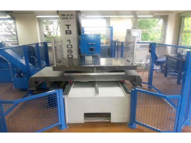 plus d'images Buck-Uhly TB 1050 CNC Machines de forage profond