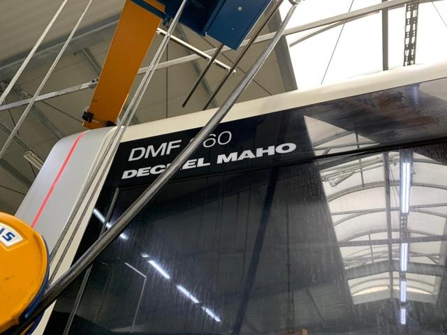 plus d'images Fraiseuse DMG DMF 360, A.  2011