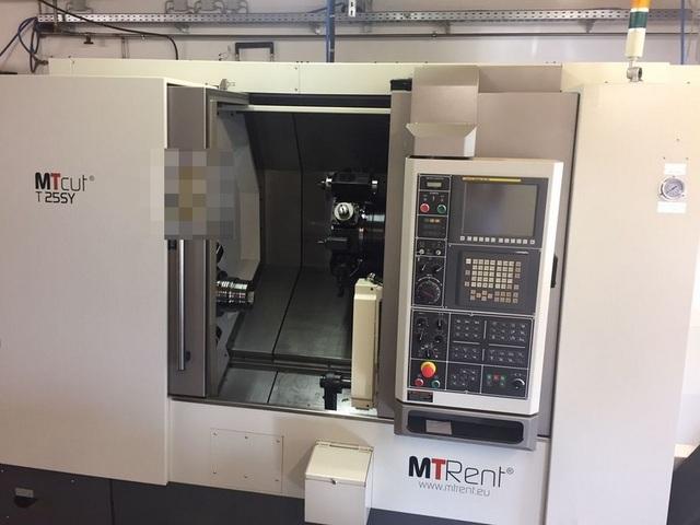 plus d'images Tour MTRent MTcut T 25 SY - FNL 250 SY NL2500 Vorführmaschine/demo