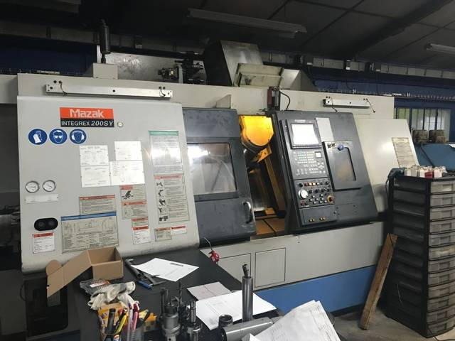 plus d'images Tour Mazak Integrex 200 SY