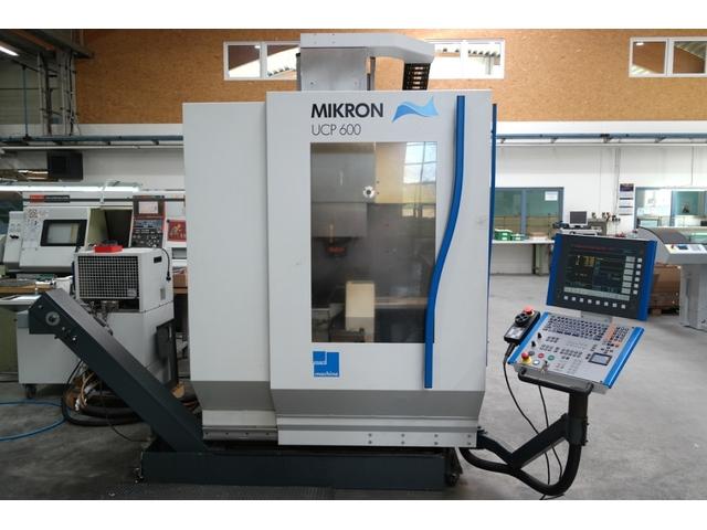 plus d'images Fraiseuse Mikron UCP 600, A.  2004