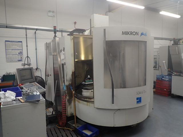 plus d'images Fraiseuse Mikron XSM 600 U  7 apc, A.  2006