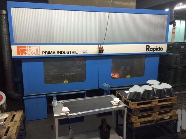 plus d'images Prima Industrie 3D Rapido 5 Systèmes de découpe laser