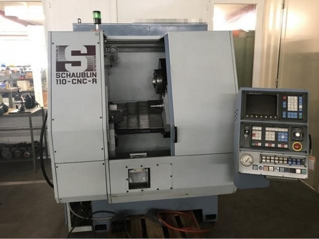 plus d'images Tour Schaublin 110 CNC R