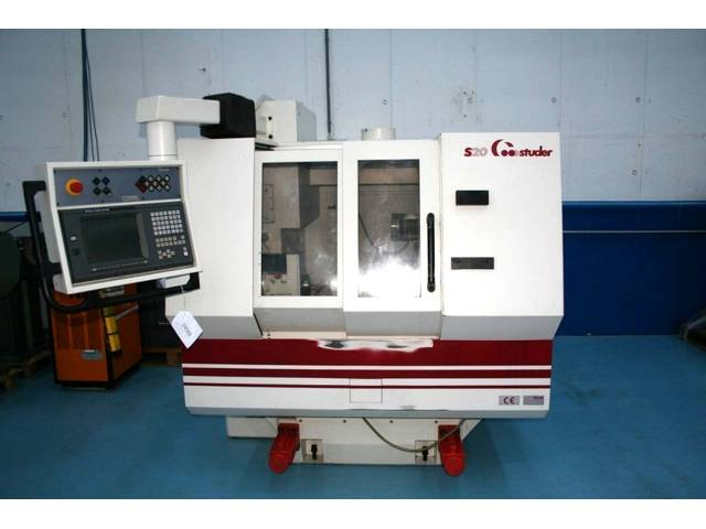 plus d'images Rectifieuse Studer S 20 CNC