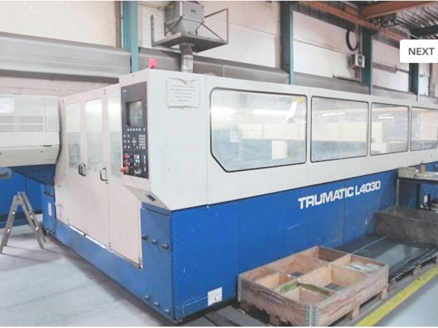 plus d'images Trumpf TCL 4030 - 3000 W Systèmes de découpe laser