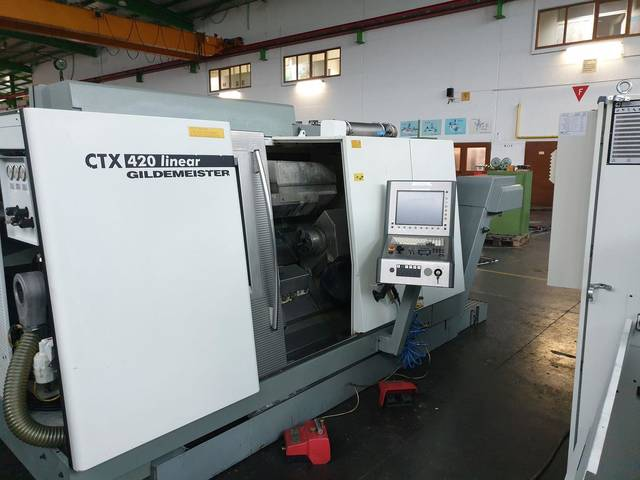 plus d'images Tour DMG CTX 420 linear V6