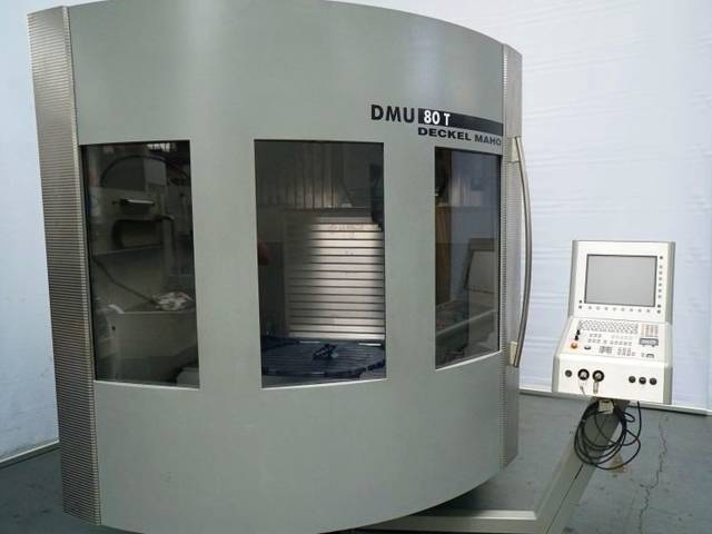 plus d'images Fraiseuse DMG DMU 80 T
