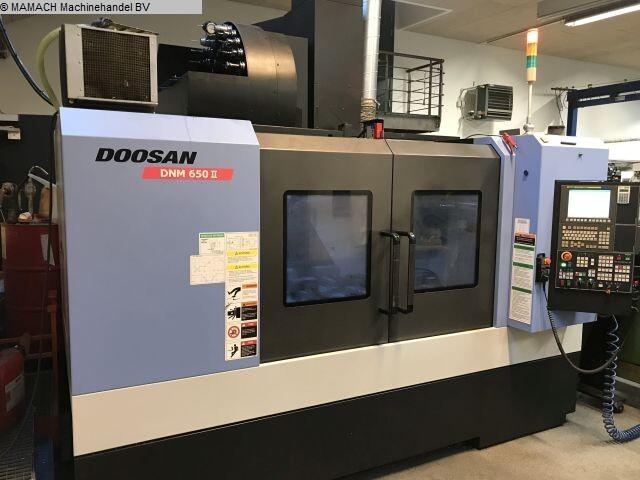 plus d'images Fraiseuse Doosan DNM 650 II