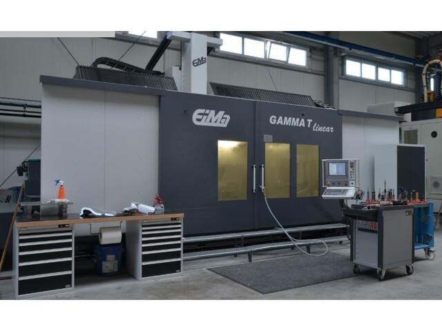 plus d'images EIMA Gamma T linear Fraiseuses portail