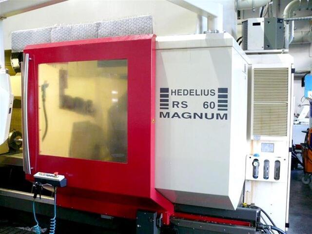 plus d'images Fraiseuse Hedelius RS 60 KM-2000