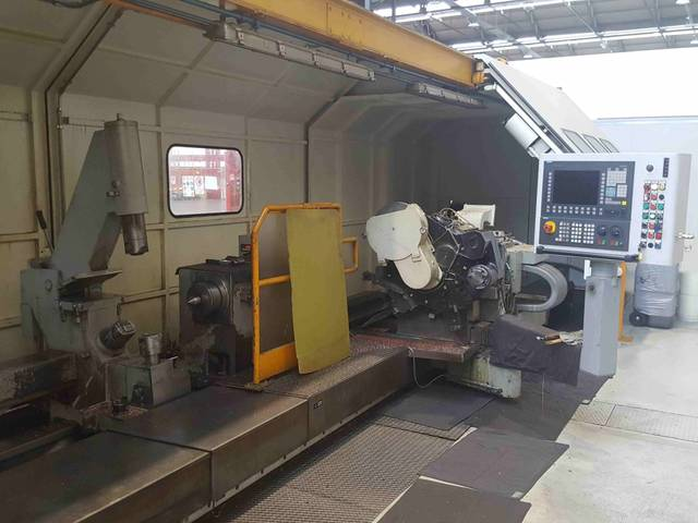 plus d'images Tour INNSE TPFR 90 x 6000 CNC Y