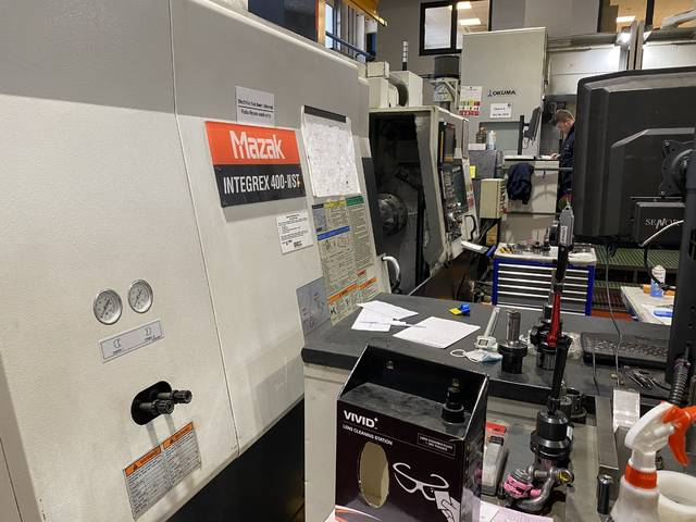 plus d'images Tour Mazak Integrex 400 III ST