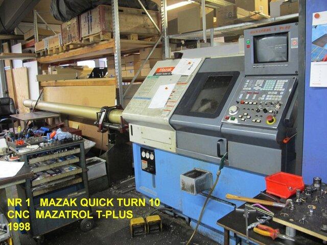 plus d'images Tour Mazak QT 10