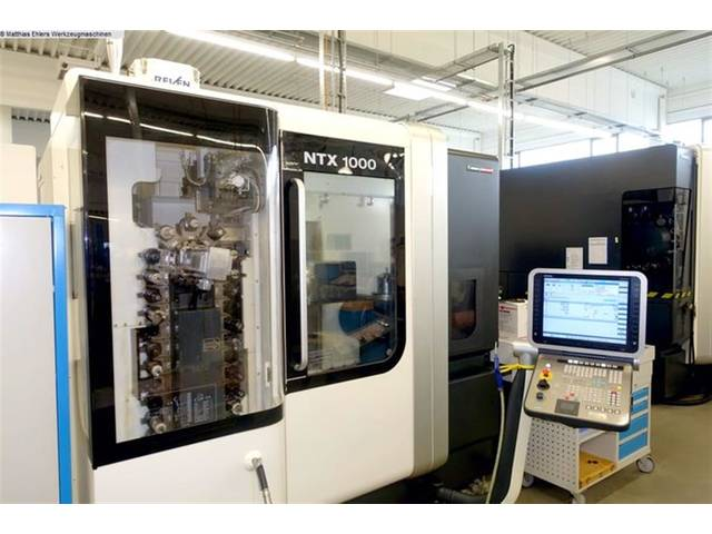 plus d'images Tour Mori Seiki NTX 1000