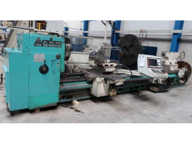 plus d'images Tour TOS SU 150 CNC 5000